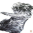 [Bird] Indian Ink on Japanese Paper / 900×900mm