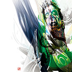 Warner Bros. / ワーナーブラザーズ [DC Comics The 75th Anniversary / DCコミック 75周年] Green Lantern Illustration